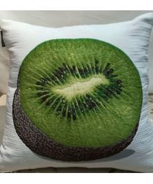 Cojin  Frutas Reversible
